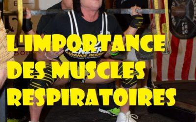 Powerlifting, l'importance des muscles respiratoires