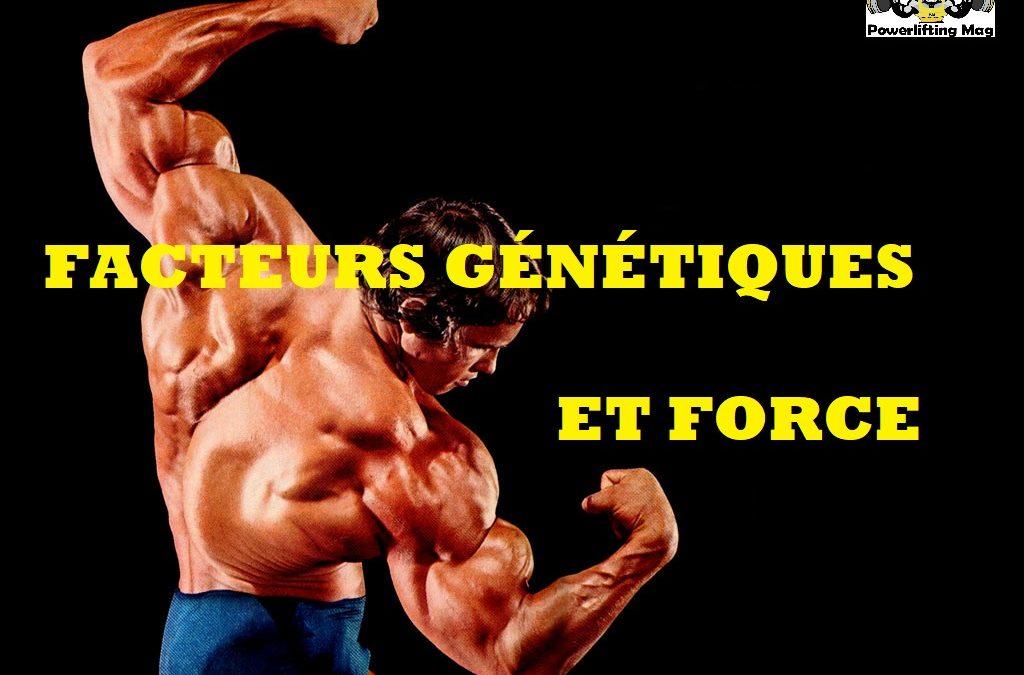 Facteurs génétiques déterminants la force